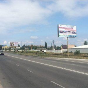 Внешняя реклама на билбордах по ул.Набережная, Киев-Вышгород, 150 после поворота на ул.Киевская, справа