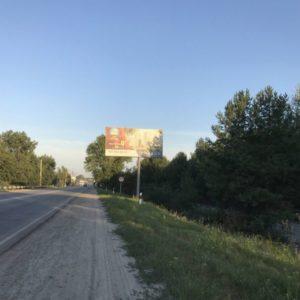 Внешняя реклама на билбордах по дороге P69 Киев-Вышгород-Десна-Чернигов км 29+100(слева) - напротив Соби Клаб;