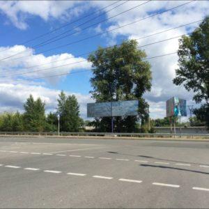 Внешняя реклама на билбордах в г.Вышгород, перекресток ул. Набережная и ул.Шолуденка